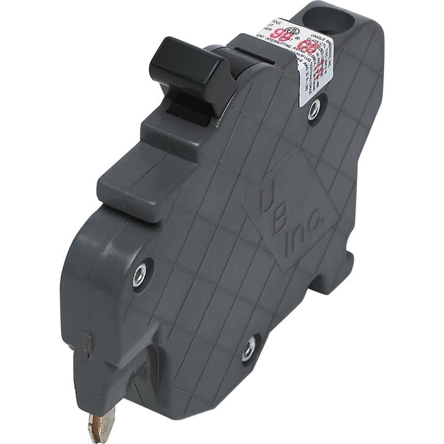 thin Federal Pionner FPE Stab-lok circuit breaker 15 Amp 2 pole Type-NC