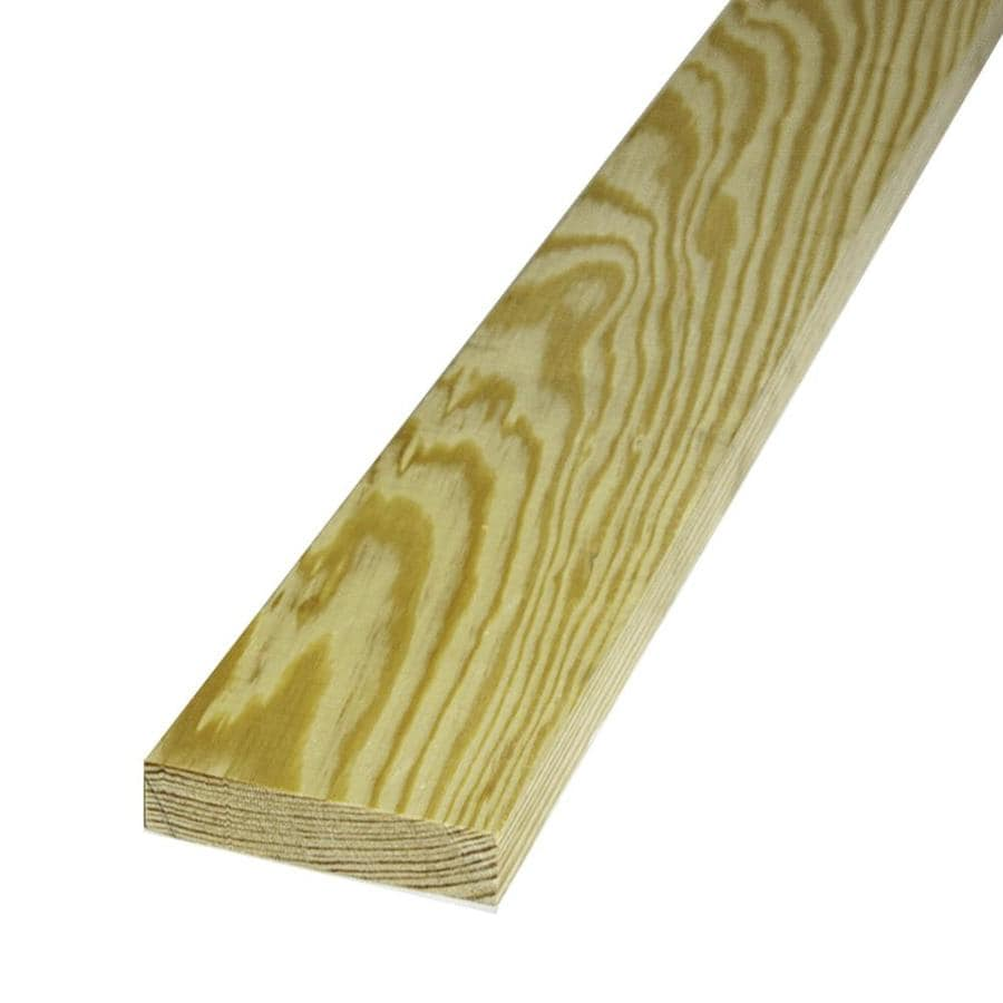 Southern Yellow Pine Board (Common: 1-in x 4-in x 10-ft; Actual: 0.75-in x 3.5-in x 10-ft)