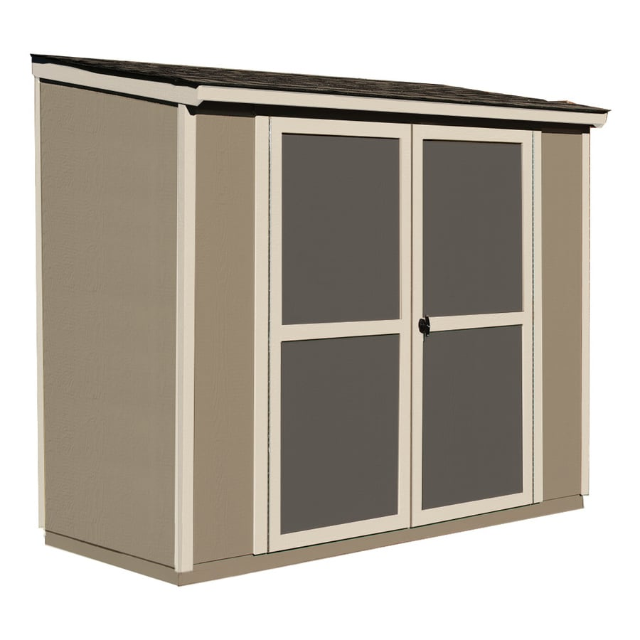 Scottsdale Lean-To Engineered Wood Storage Shed (Common: 8-ft x 4-ft; Interior Dimensions: 8-ft x 4-ft) Product Photo