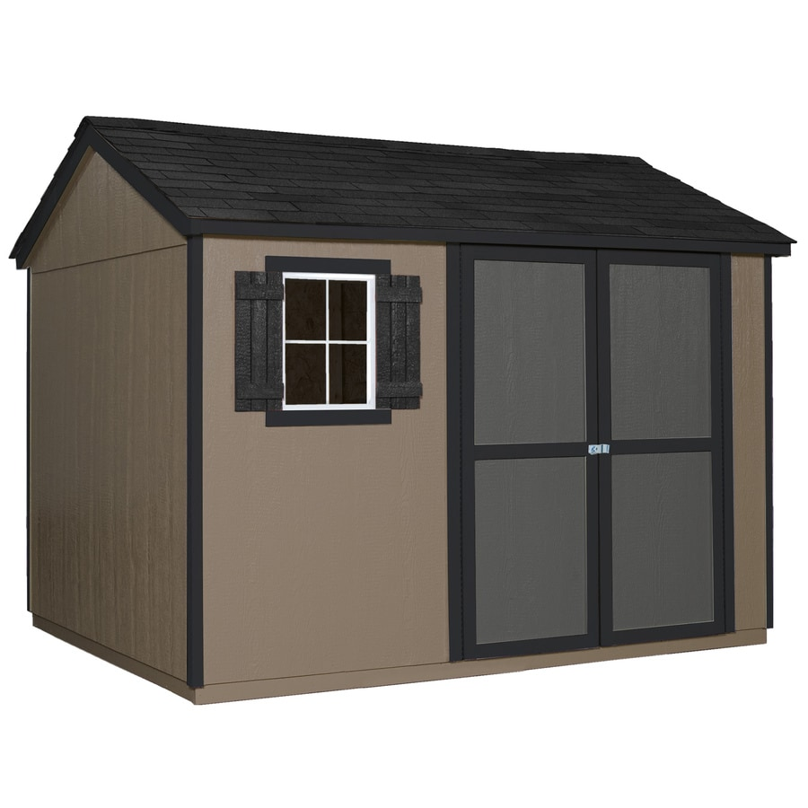 Heartland Valencia Saltbox Engineered Wood Storage Shed (Common: 10-ft x 8-ft; Interior Dimensions: 9.46-ft x 7.58-ft)