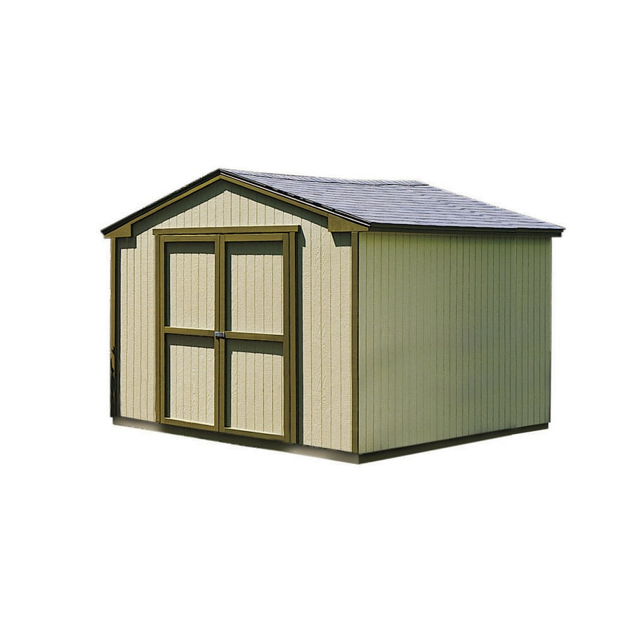Shop Heartland DIY Liberty 10 X 12 Wood Storage Building