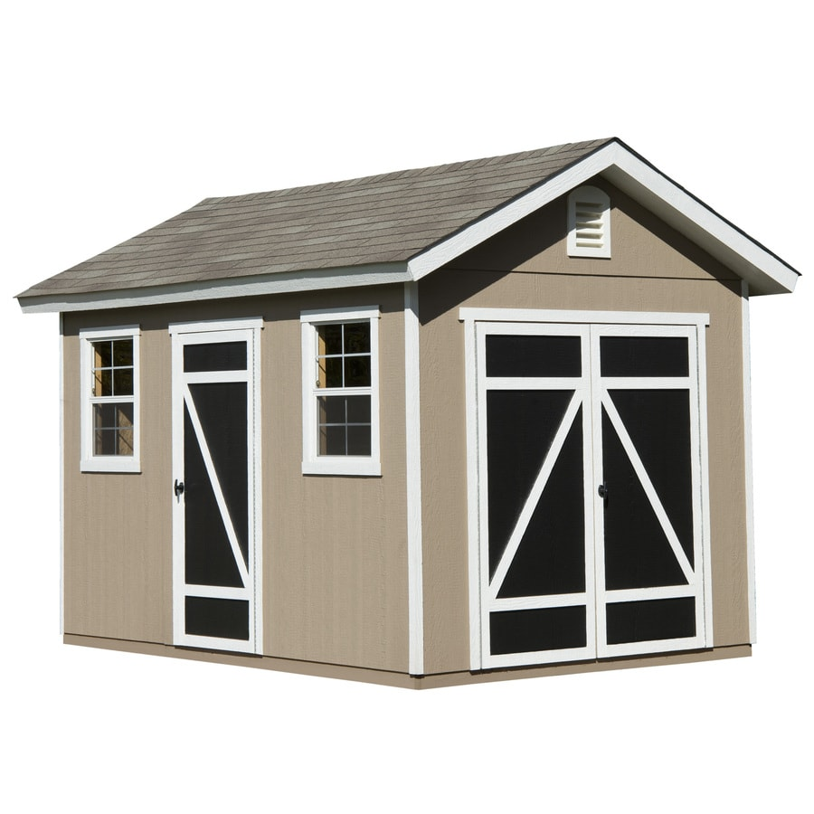 Hillsdale Gable Engineered Wood Storage Shed (Common: 8-ft x 12-ft; Interior Dimensions: 8-ft x 12-ft) Product Photo