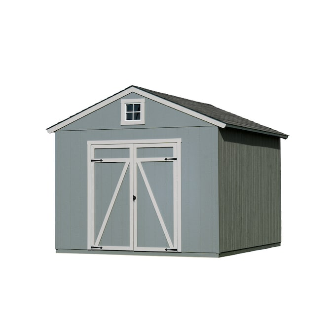 Heartland Common 12 Ft X 10 Ft Interior Dimensions 10 Ft X 12 Ft Statesman Gable Engineered Storage Shed In The Wood Storage Sheds Department At Lowes Com