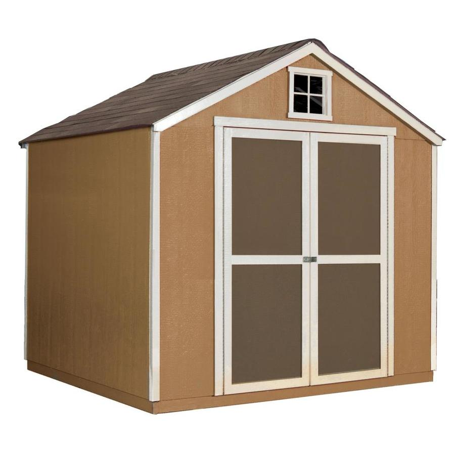 Heartland (Common: 32-ft x 32-ft; Interior Dimensions: 32-ft x 32.32-ft)  Granbury Gable Engineered Storage Shed