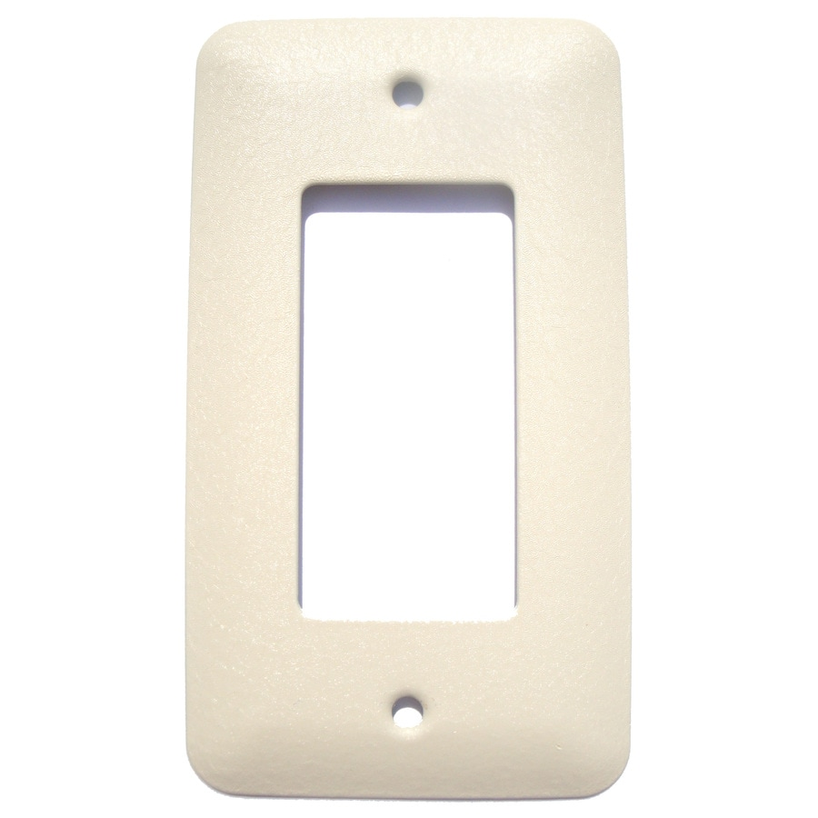 Mulberry 1-Gang Ivory Wall Plate