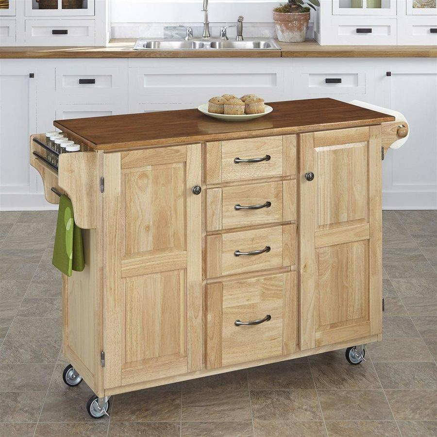 Kitchen Islands and Carts Cabinets and Storage Solutions with ...