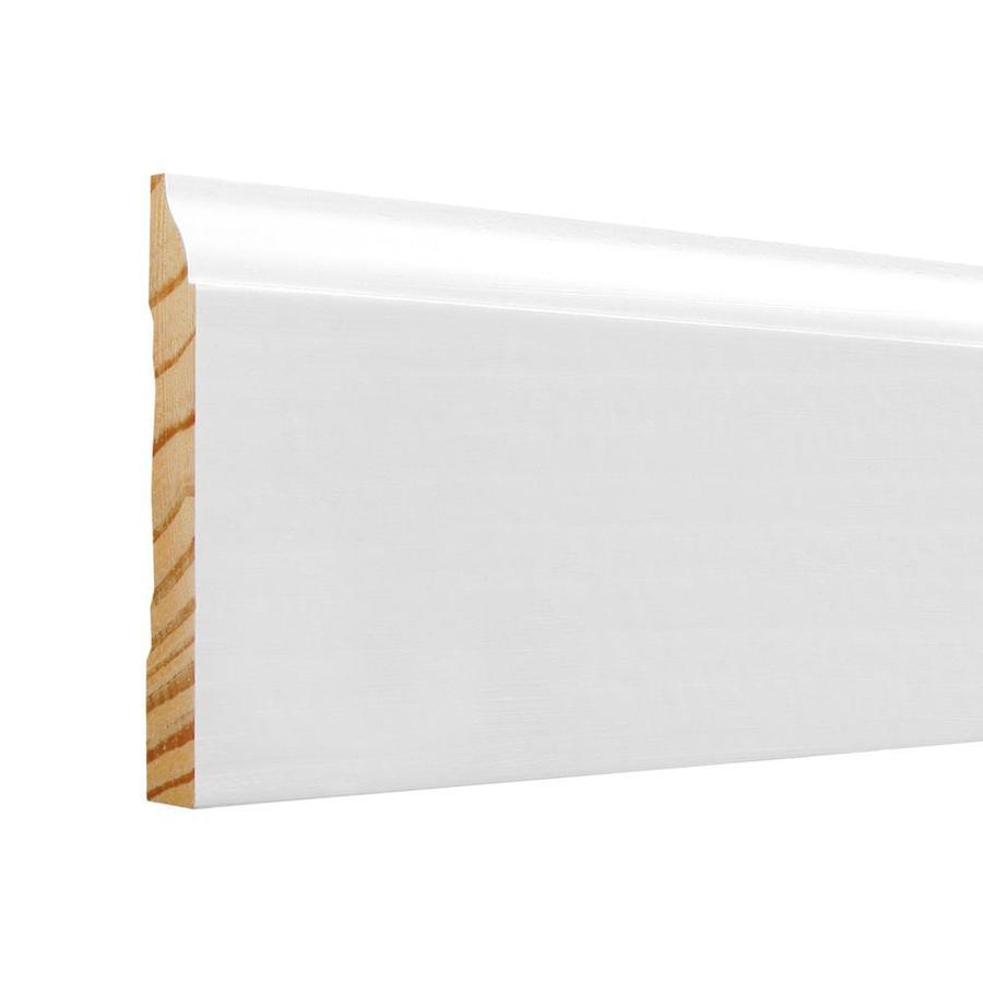 EverTrue 3.25-in x 8-ft Interior Pine PFJ Baseboard