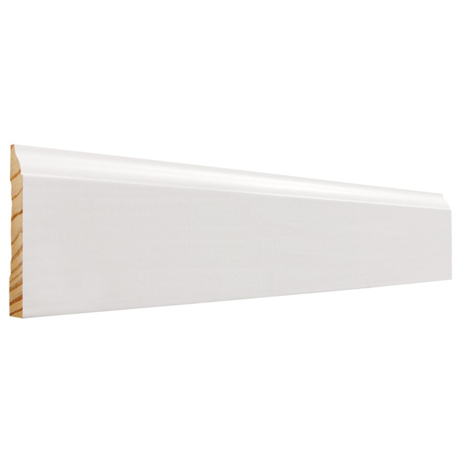 EverTrue 3.25-in x 16-ft Interior Pine PFJ Baseboard