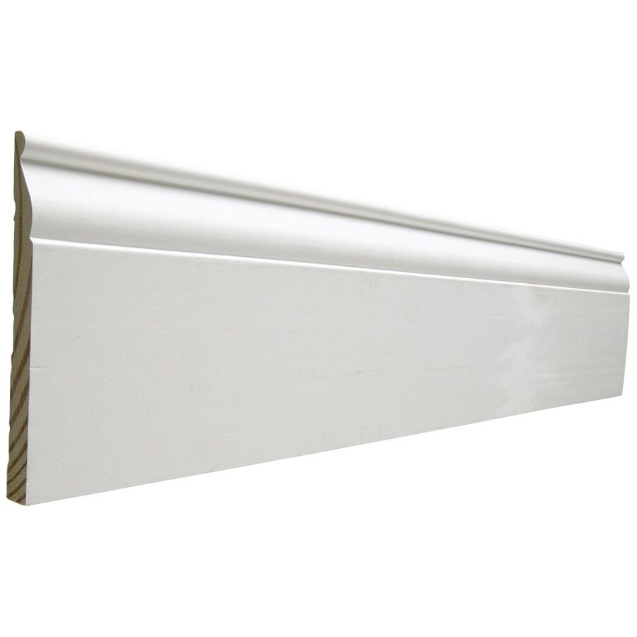 5.25-in x 10-ft Interior Pine PFJ Baseboard