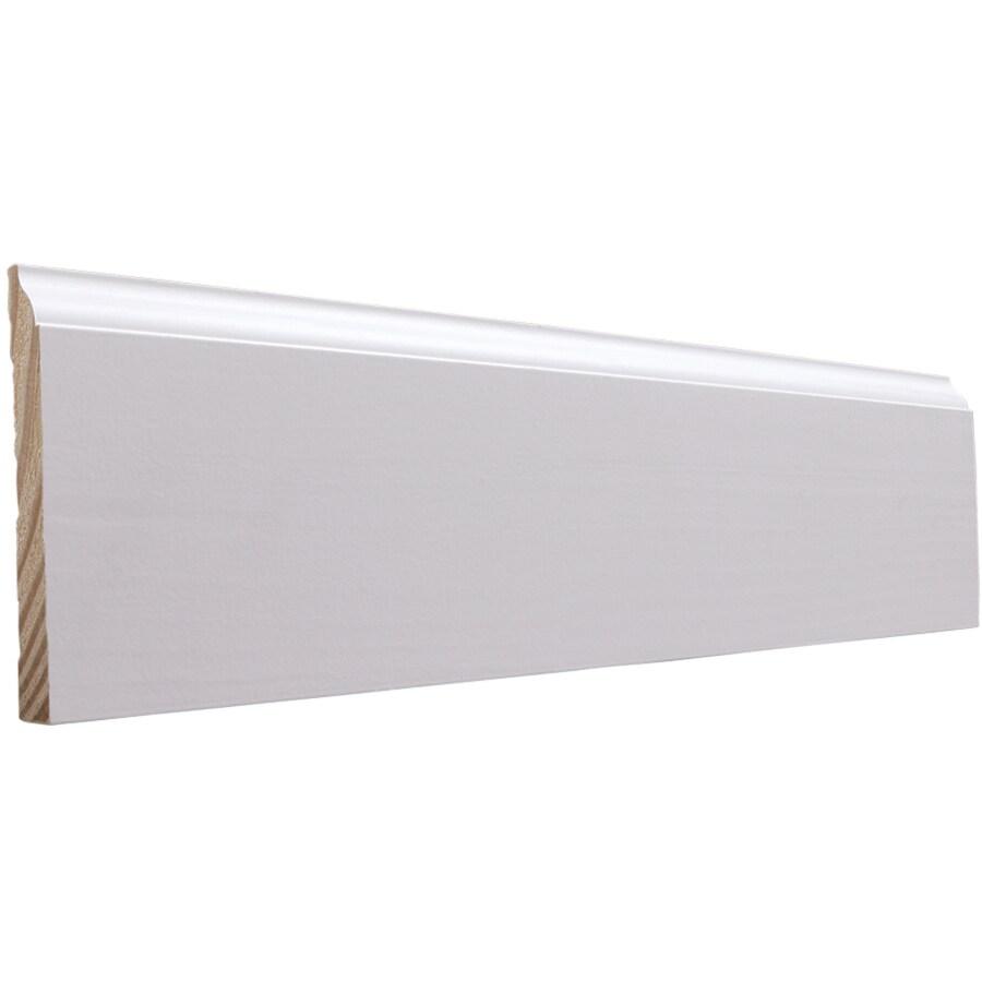 EverTrue 4.25-in x 16-ft Interior Pine PFJ Baseboard