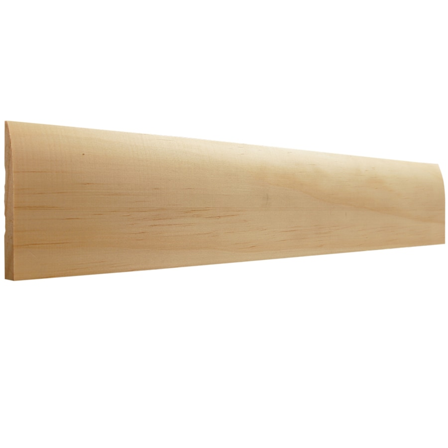 EverTrue 3-in x 10-ft Interior Pine Baseboard