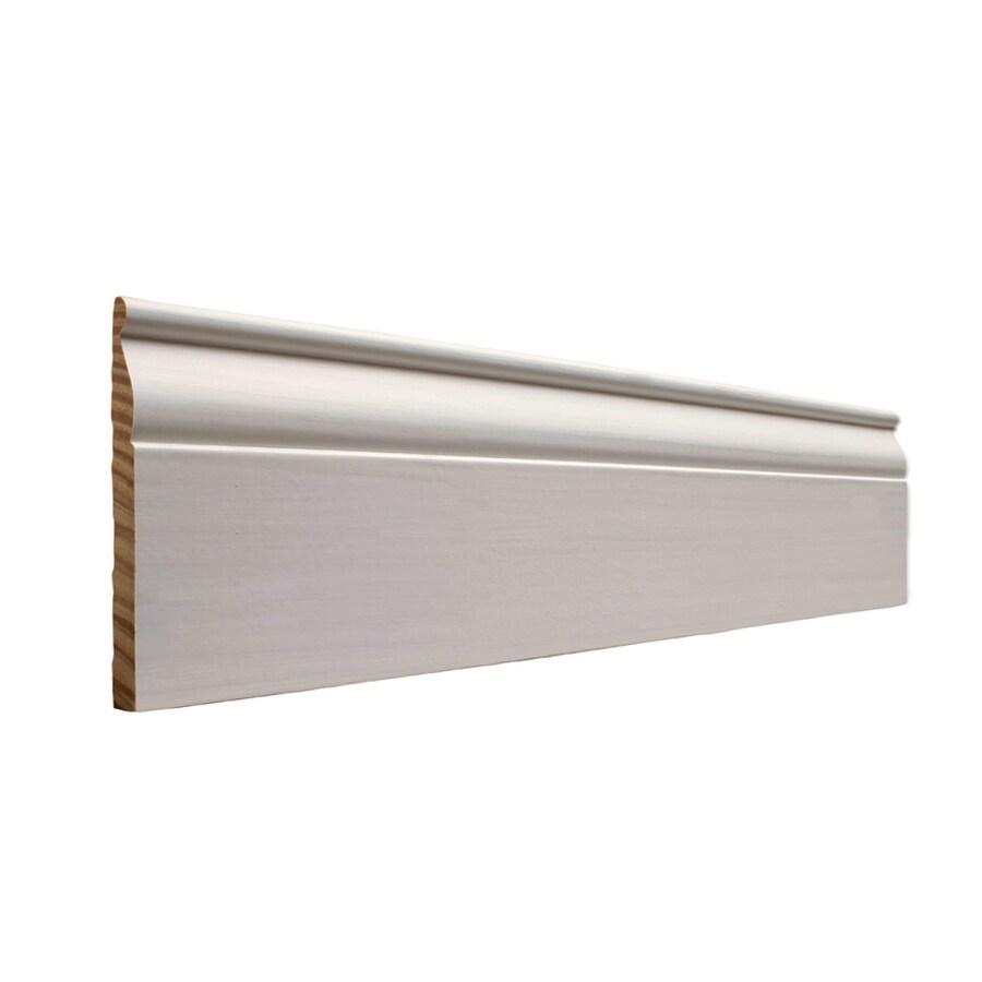 EverTrue 4.25-in x 10-ft Interior Pine PFJ Baseboard