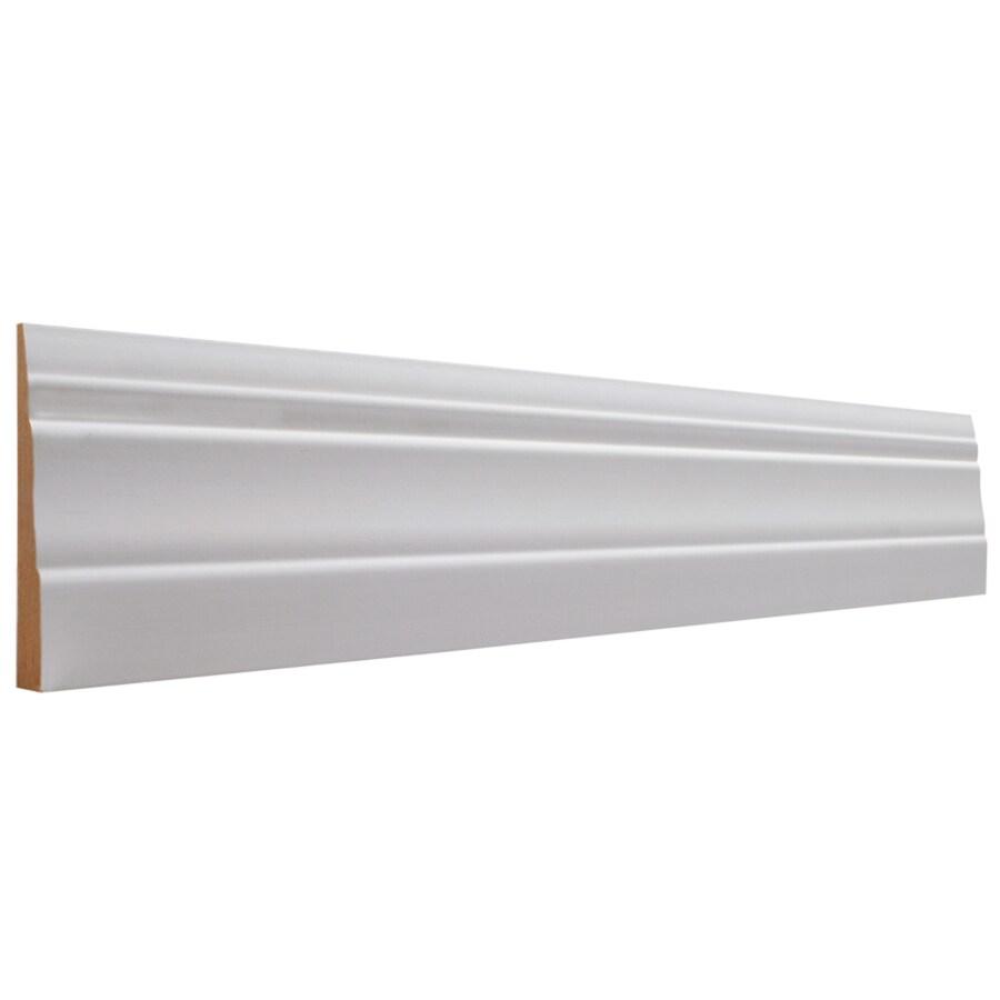 EverTrue 3.25-in x 8-ft Interior MF Baseboard
