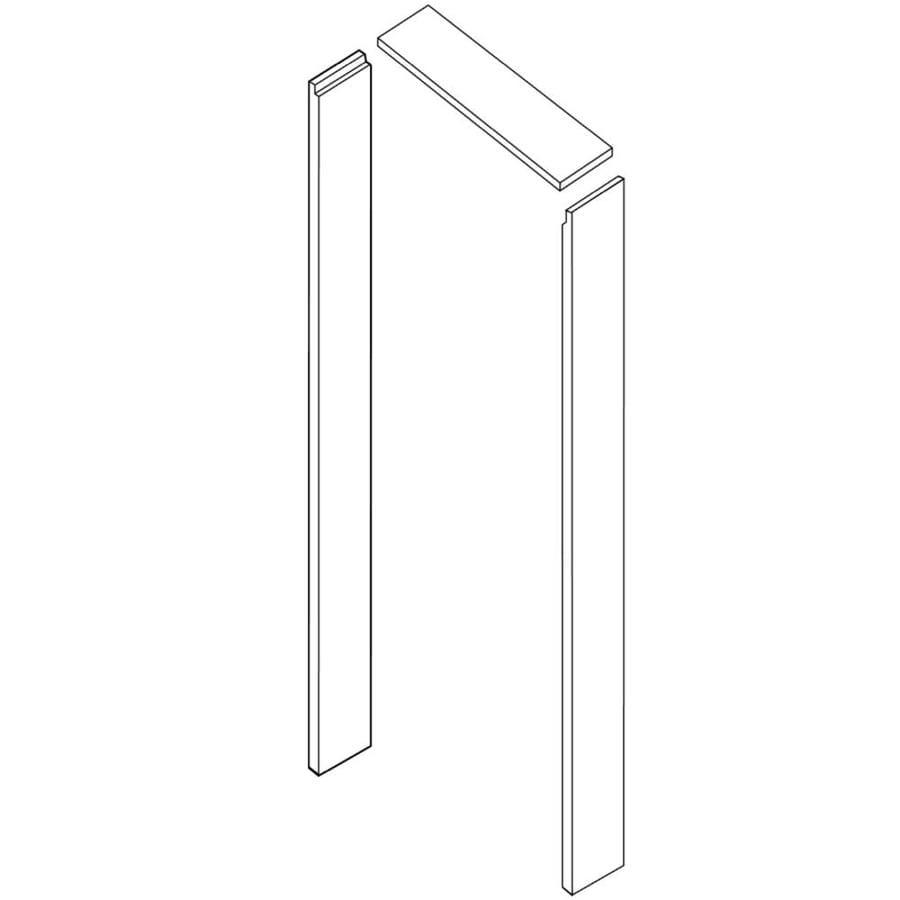 Shop evertrue l interior door casing kit at for Door jamb kit