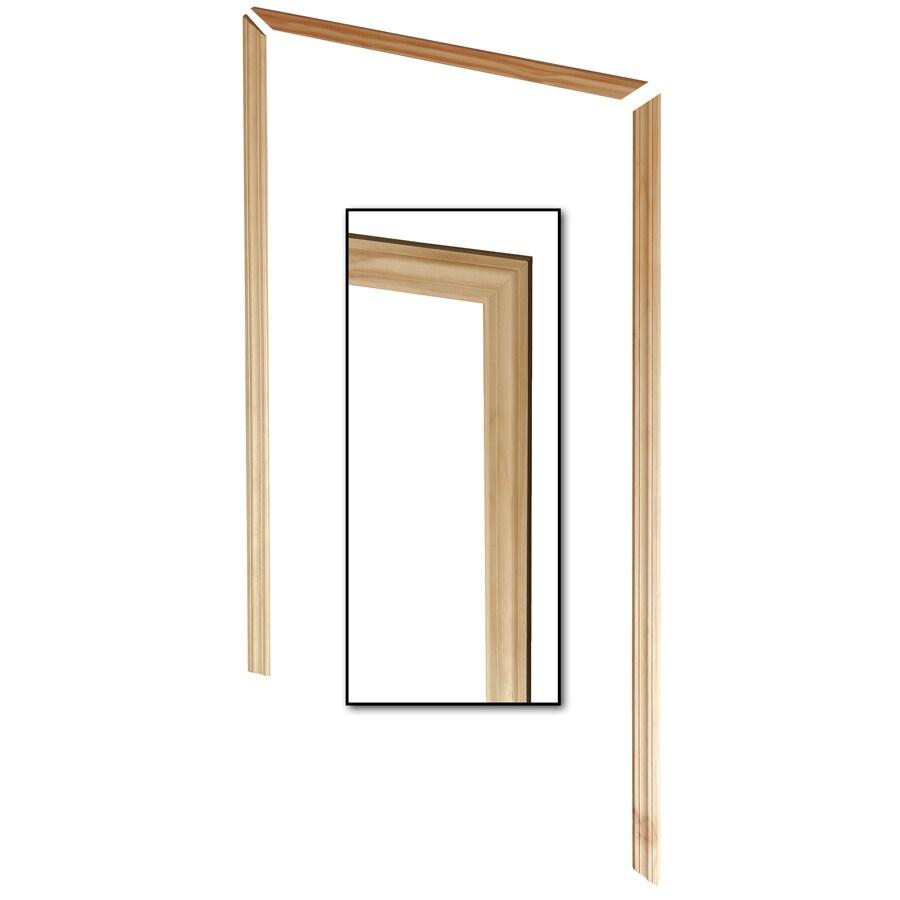 EverTrue 3-Pack 2.5-in x 6.98-ft Interior Pine Unfinished Window and Door Casing