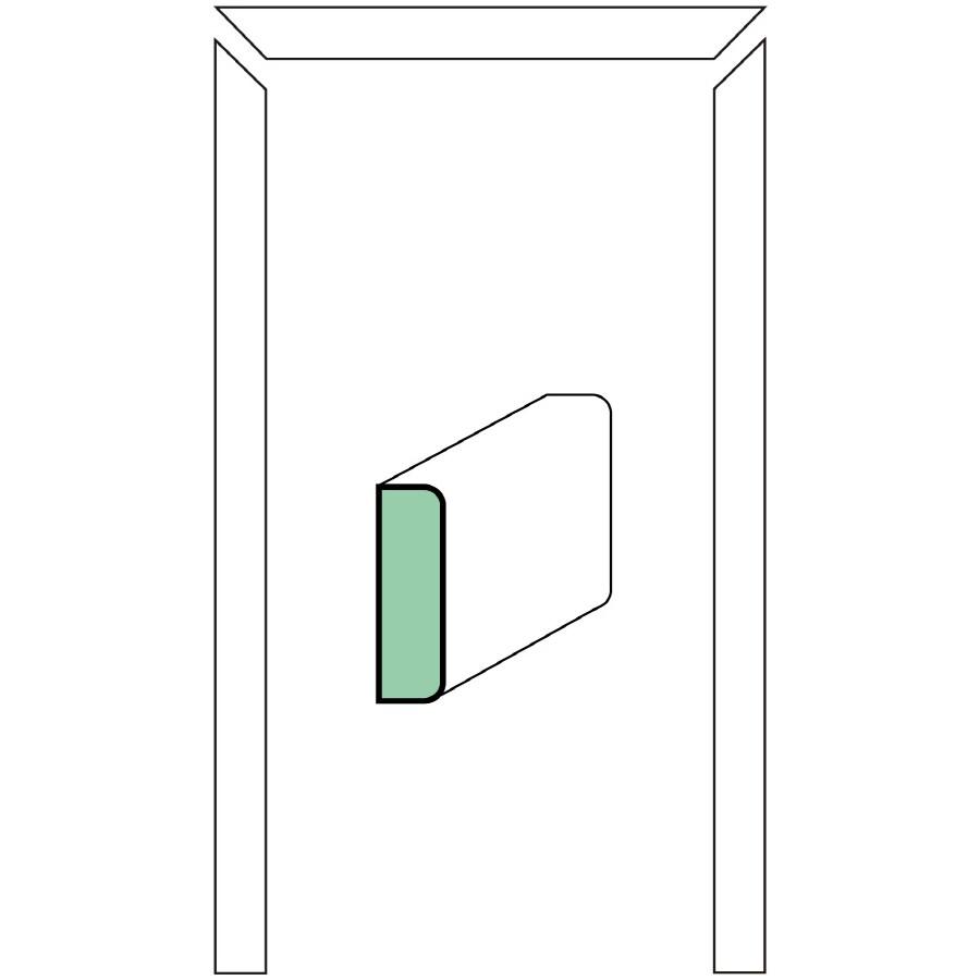 EverTrue 1.25-in x 7-ft Interior Pine Wood Stop Window Moulding