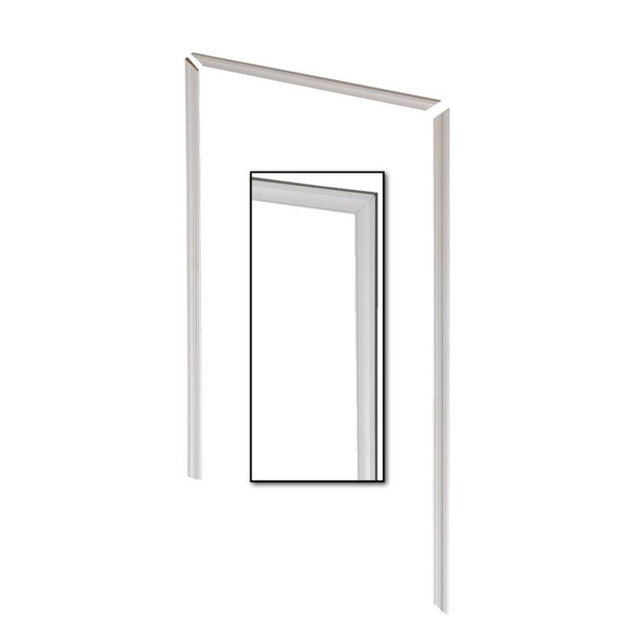 EverTrue 3-Pack 2.25-in x 6.96-ft Interior Pine Primed PFJ Window and Door Casing