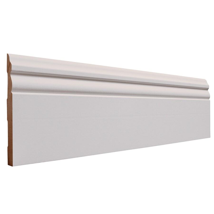 5.25-in x 8-ft Interior MF Baseboard