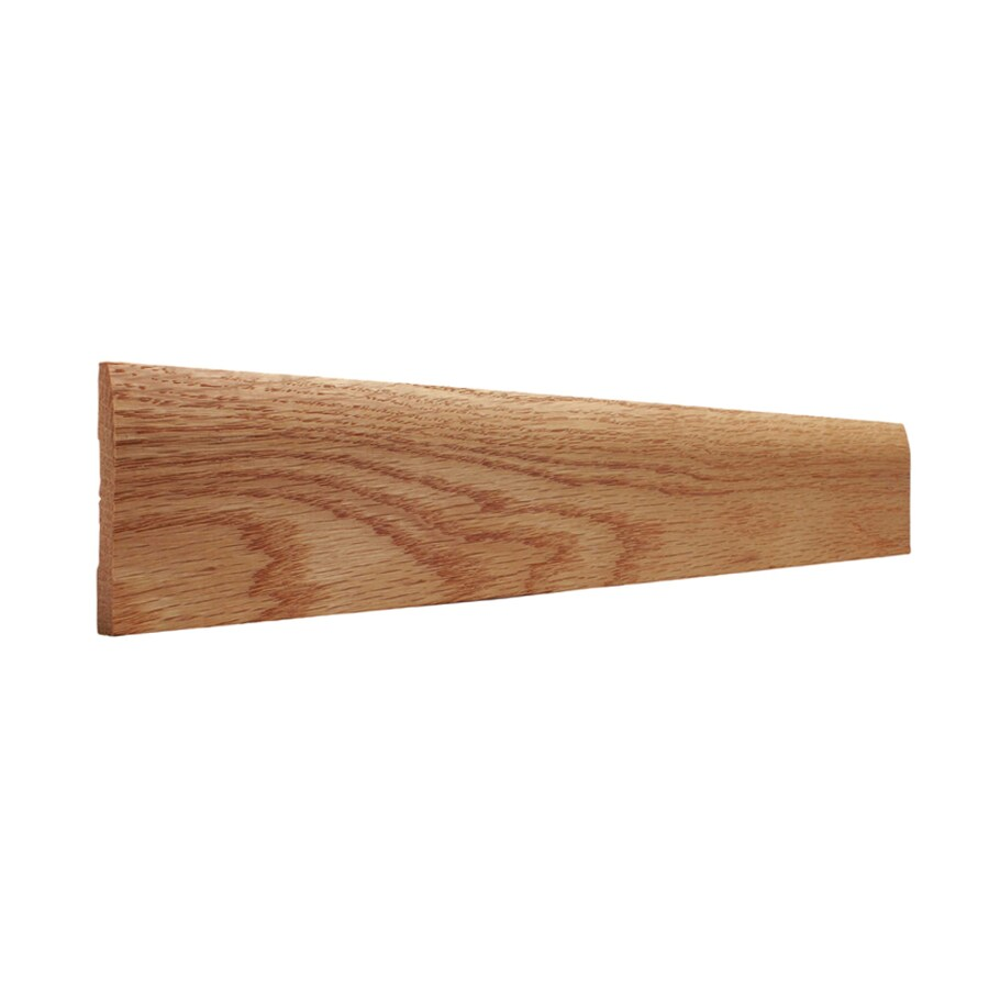 2.75-in x 8-ft Interior Oak Baseboard