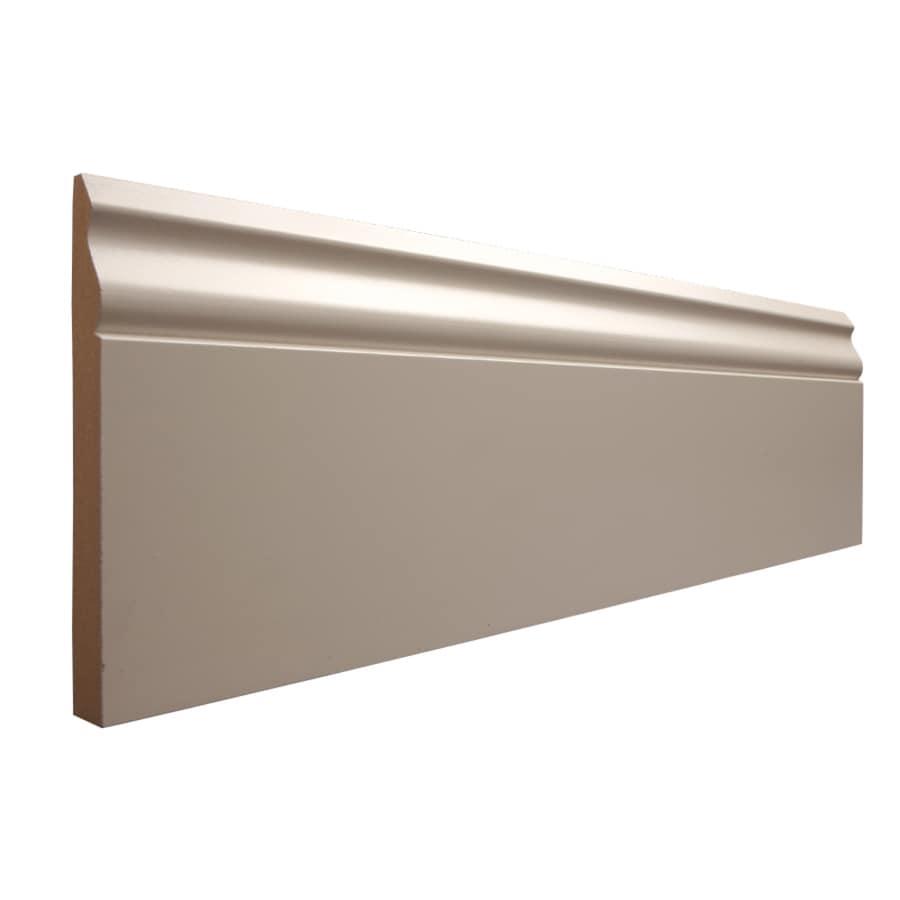 5.25-in x 12-ft Interior MF Baseboard