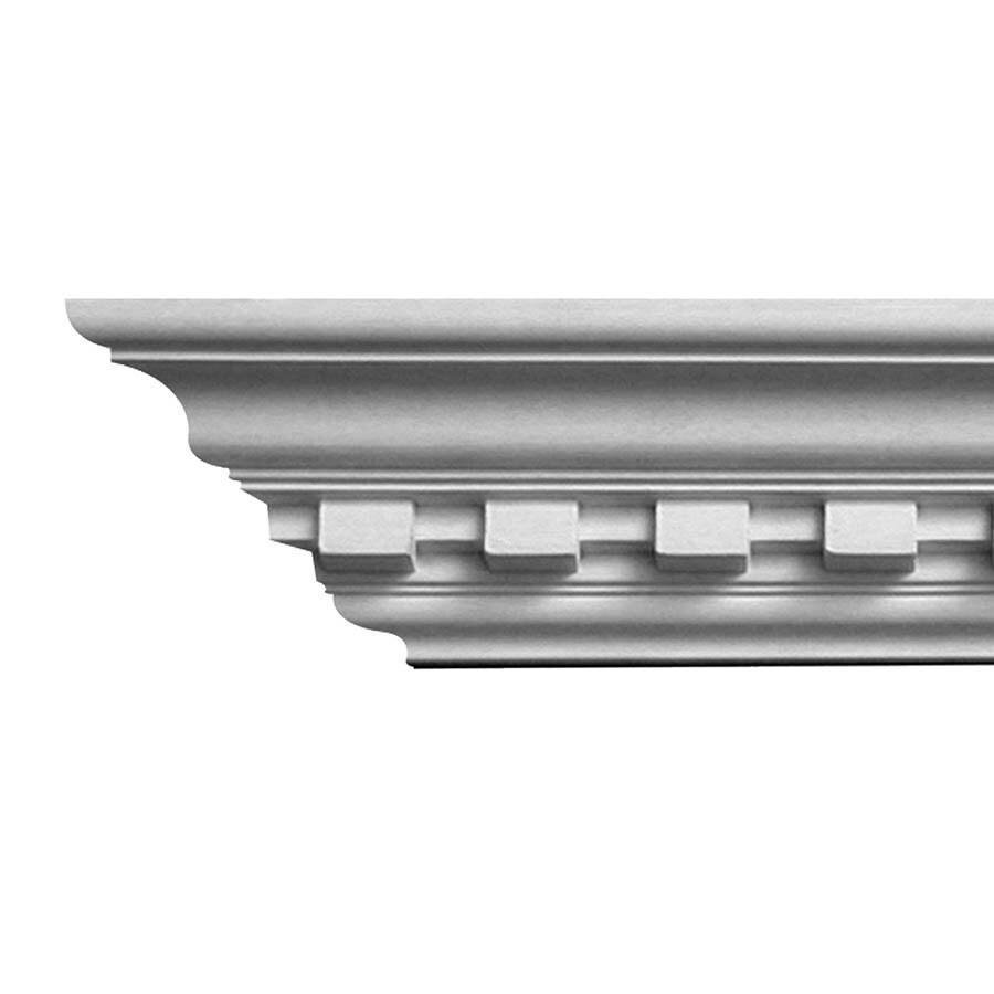 EverTrue 3.75-in x 8-ft Polystyrene Crown Moulding