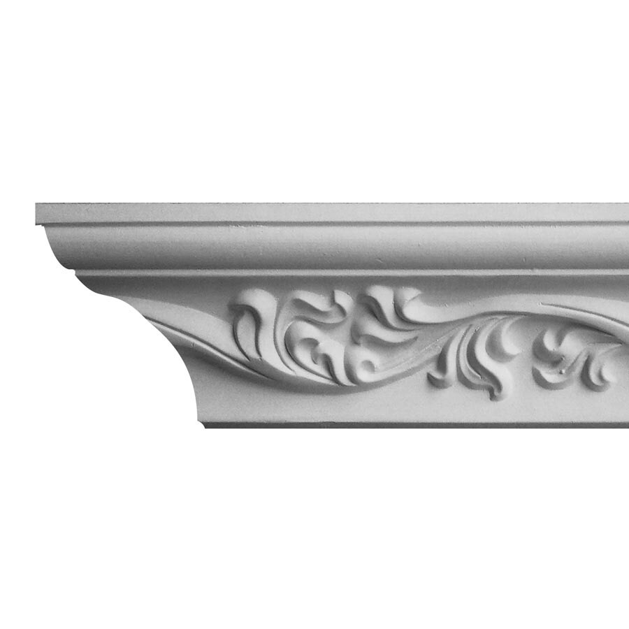 EverTrue 3.188-in x 8-ft Polyurethane Crown Moulding