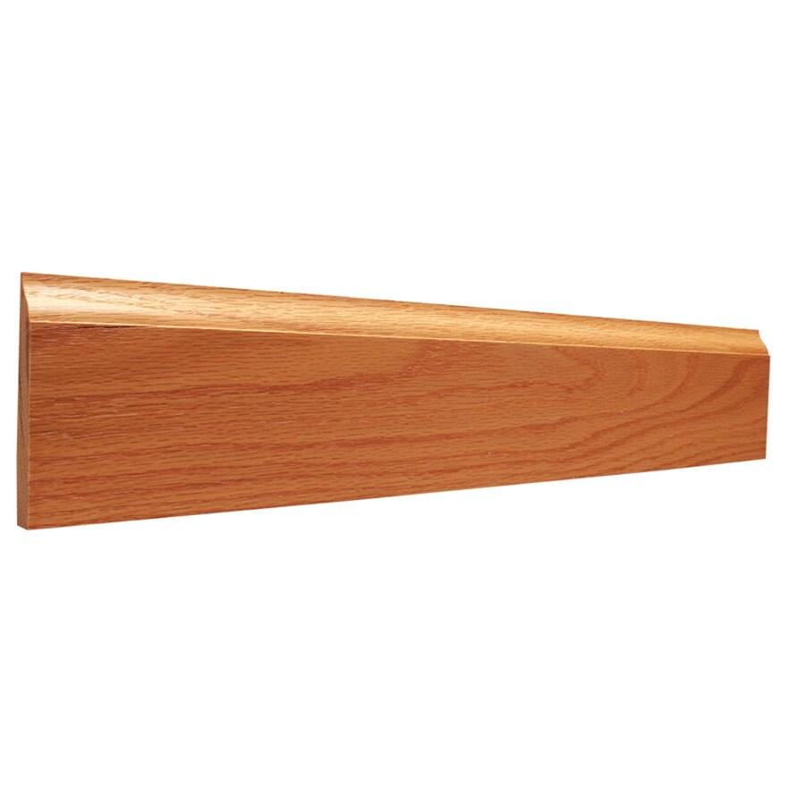 3.25-in x 12-ft Interior Oak Baseboard