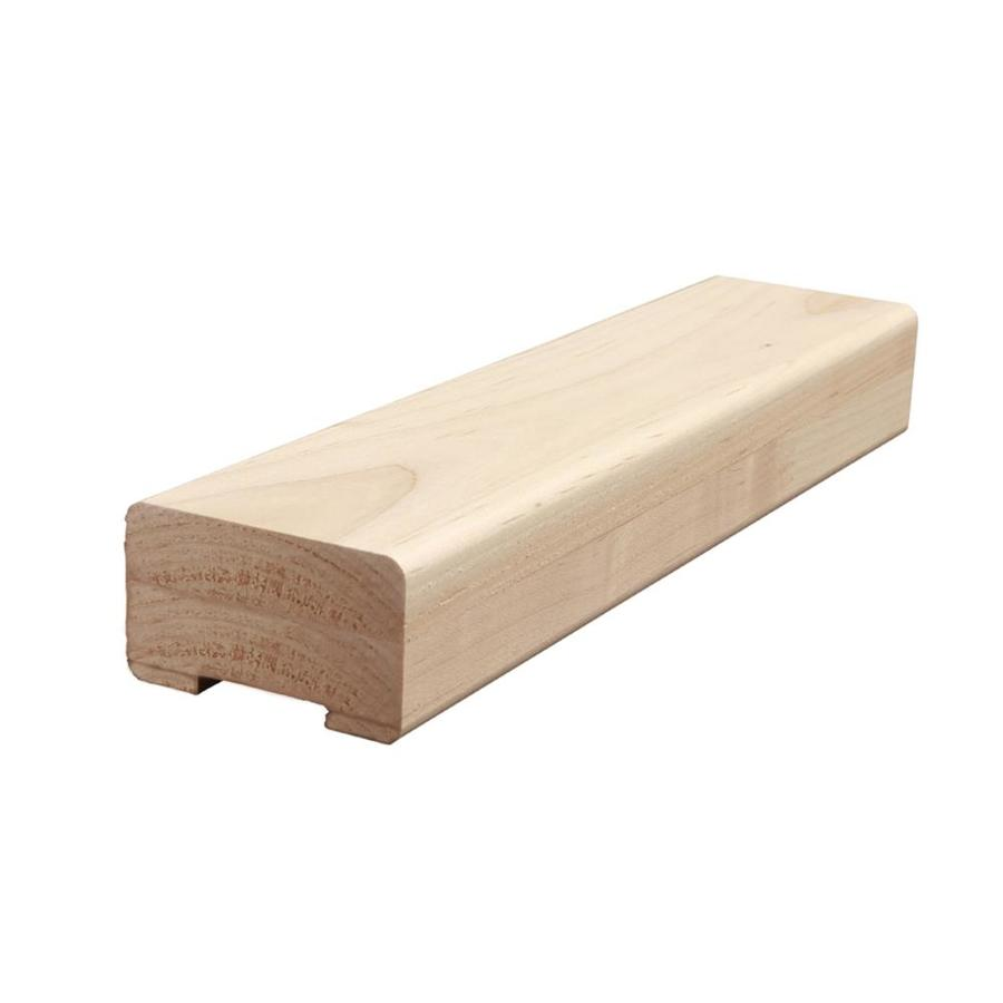 Creative Stair Parts 2.75-in x 12-ft Stain Grade Plowed Handrail
