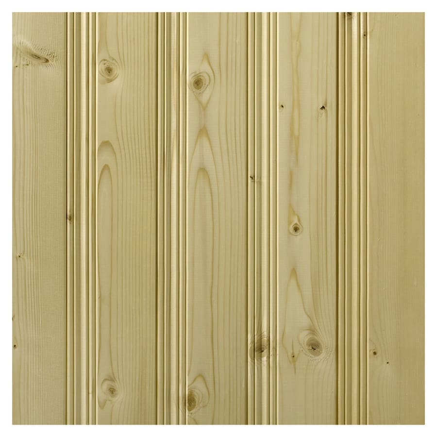 Empire Company 3.5625-in x 8-ft Pickwick Raw Pine Wood Wall Panel