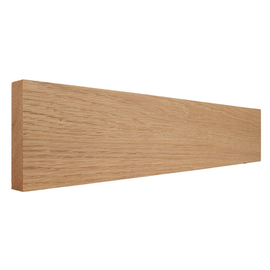 3.5-in x 12-ft Interior Pine Baseboard