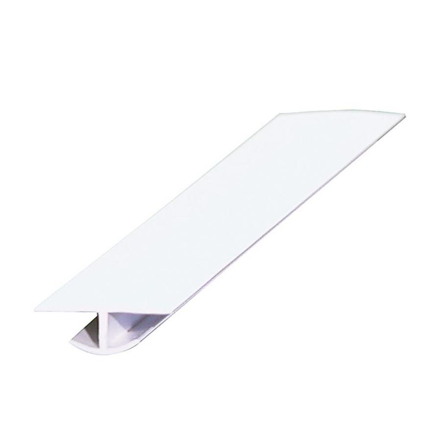 1-in x 96-in White Plastic Divider