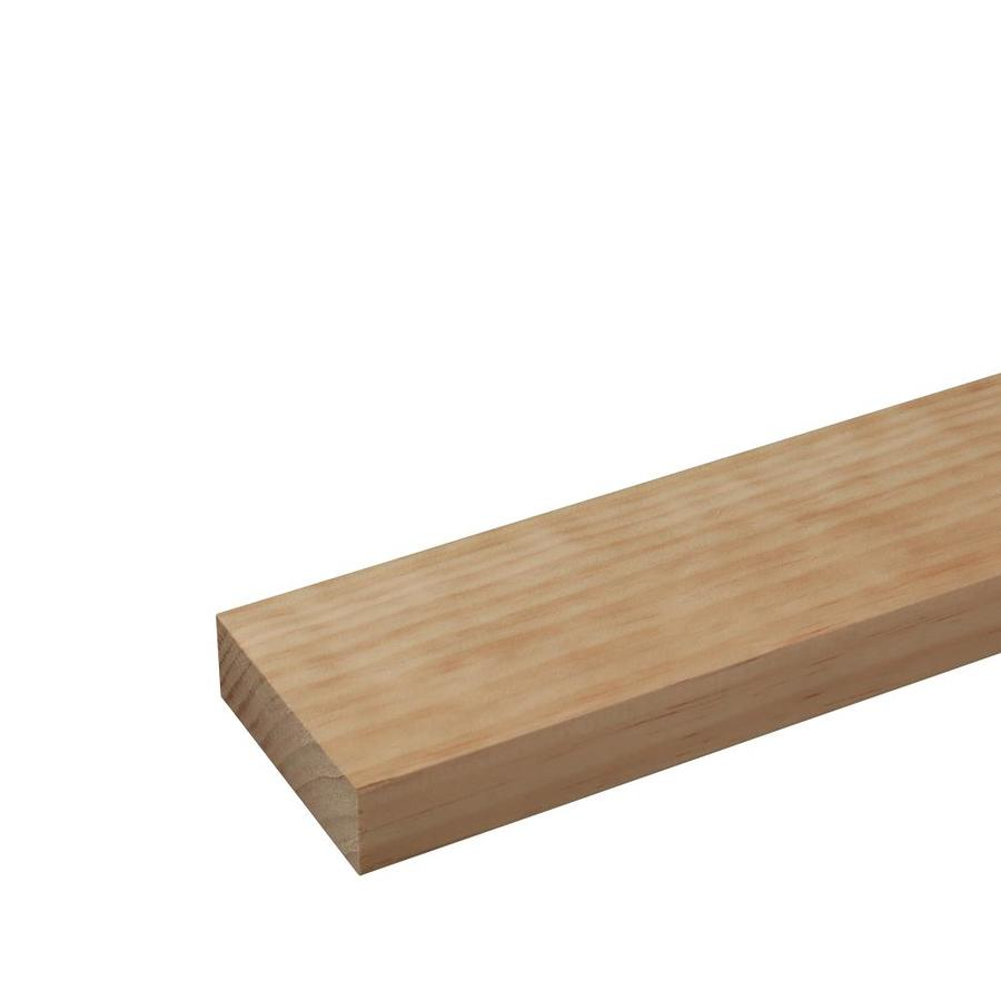 Radiata Pine Board (Common: 1-1/4-in x 4-in x 8-ft; Actual: 1.25-in x 3.5-in x 8-ft)