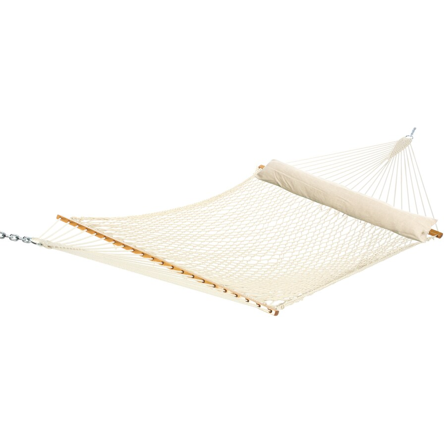 Garden Treasures 156-in Polyester Hammock