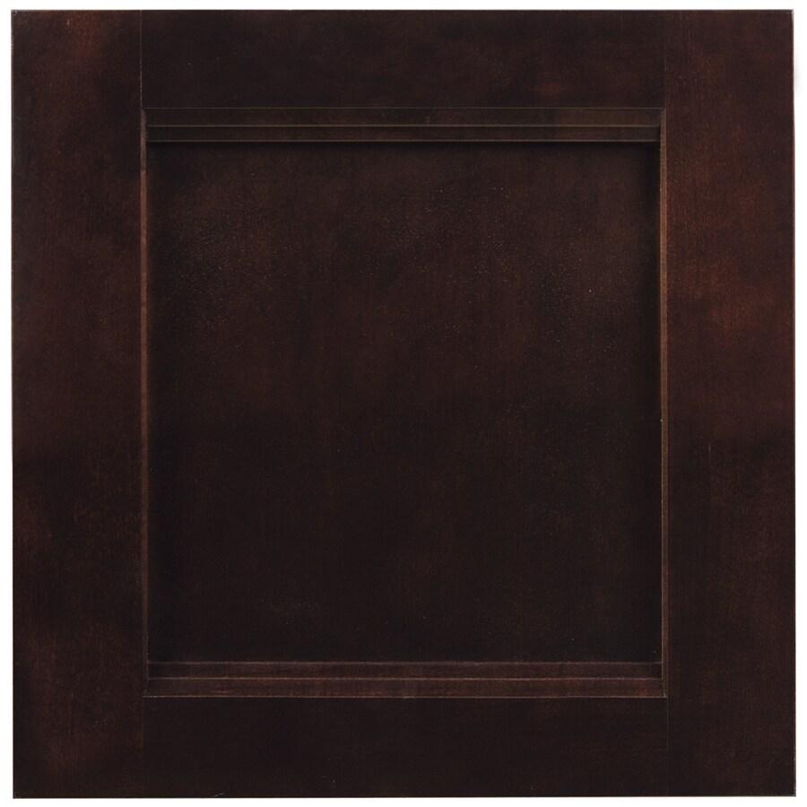 Shop shenandoah solana 14 5 in x 14 5625 in java cherry square cabinet