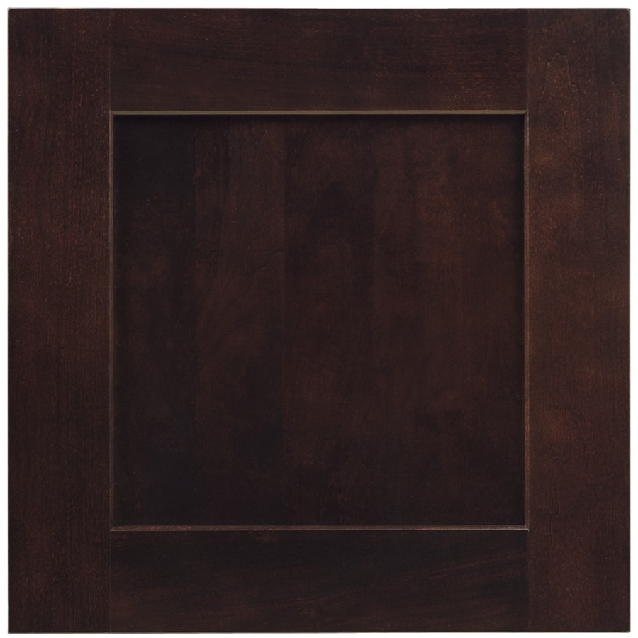 Shenandoah mission 14 5 in x 14 5625 in java cherry square cabinet