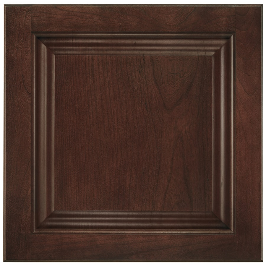 Shenandoah Orchard 14.5-in x 14.5625-in Bordeaux Cherry Square Cabinet Sample