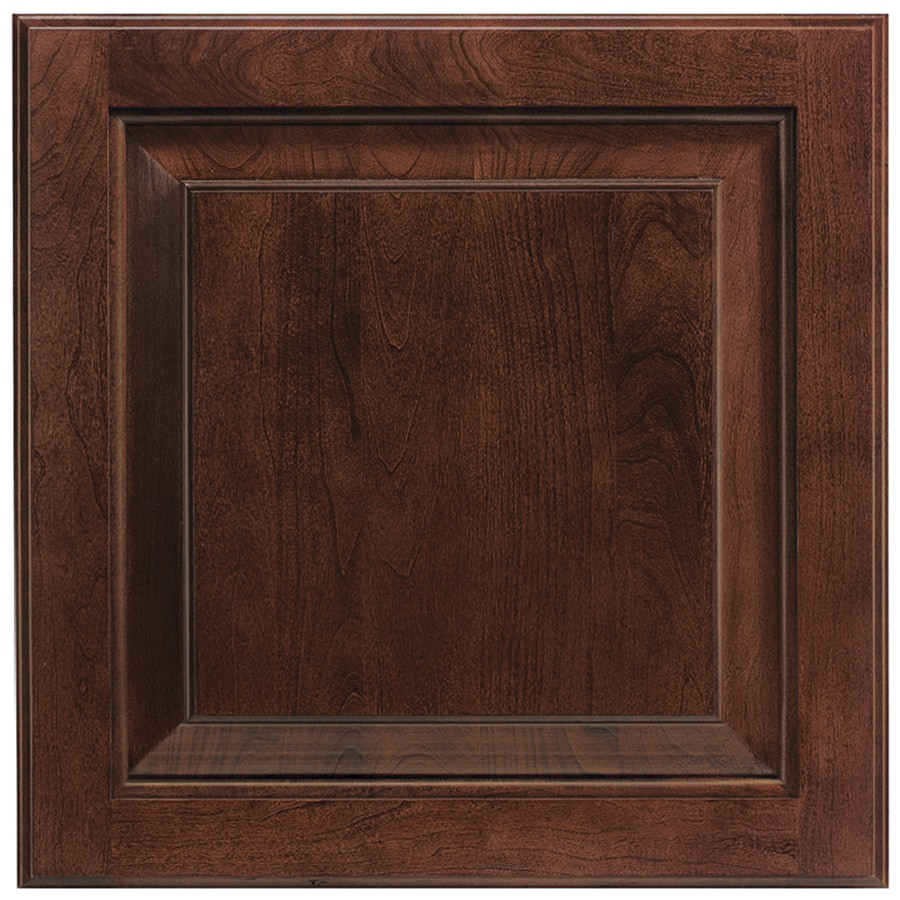 Shenandoah Winchester 14.5-in x 14.5625-in Bordeaux Stained Cherry Square Cabinet Sample