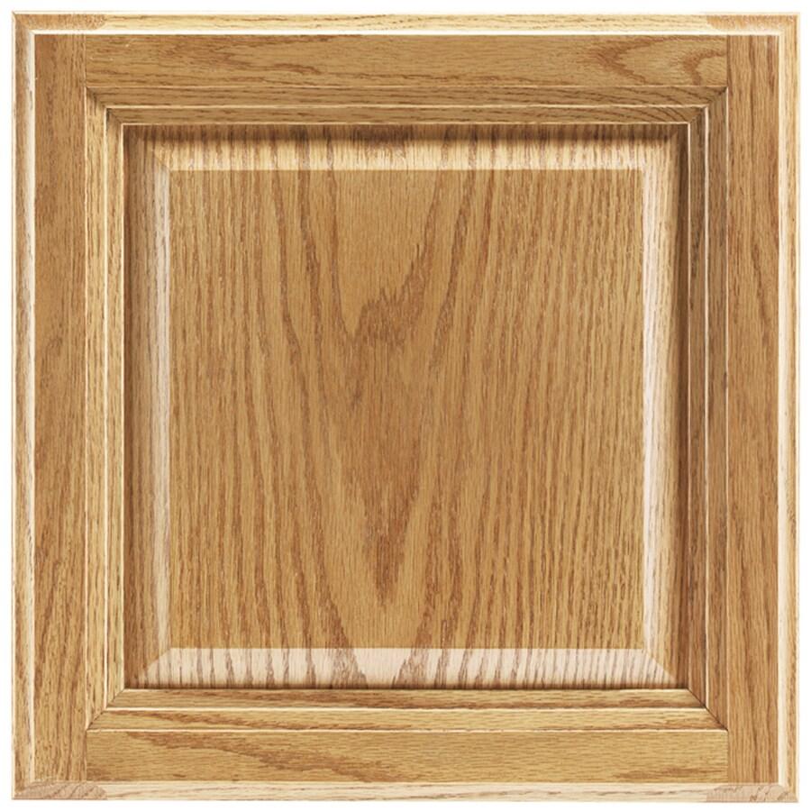 Shenandoah Bluemont 13-in x 12.875-in Honey Oak Square Cabinet Sample