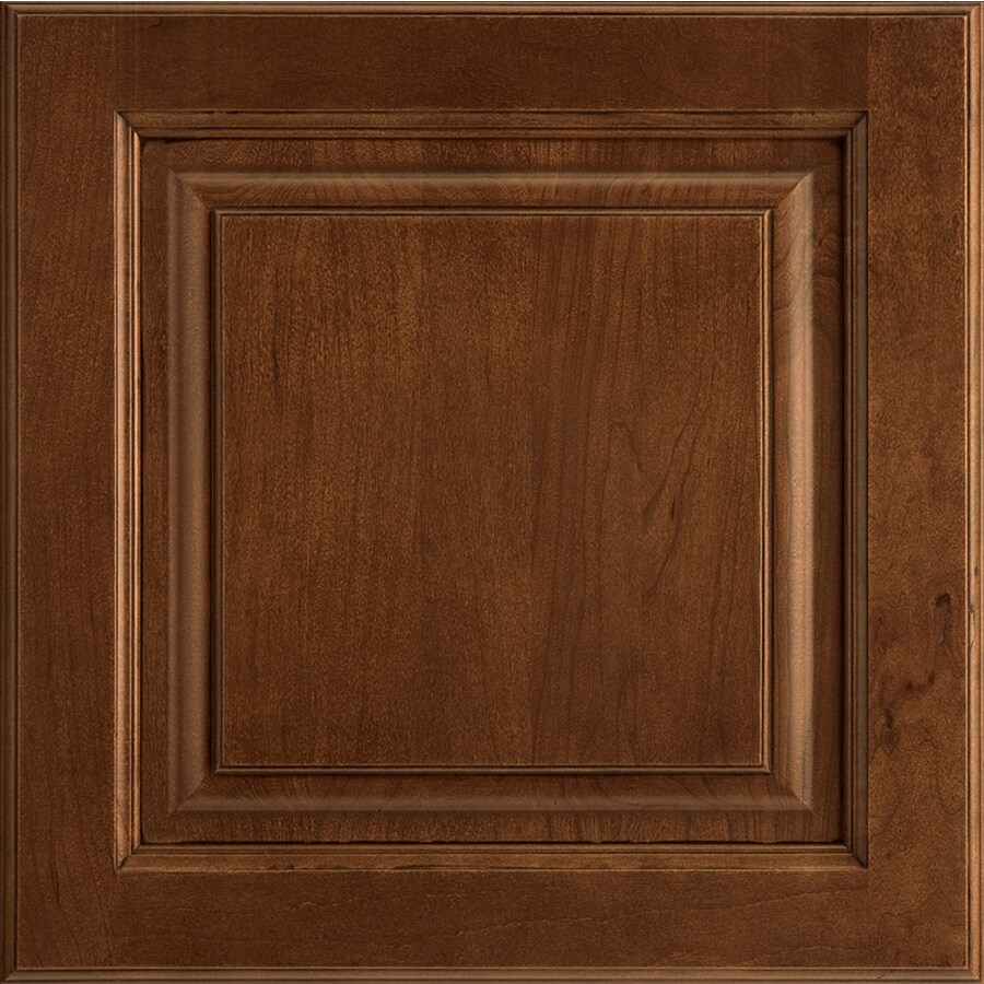 Shenandoah Grove 13-in x 12.875-in Chocolate Glaze Cherry Square Cabinet Sample