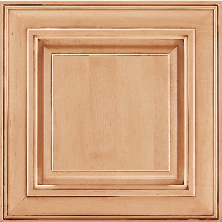 Shenandoah Mckinley 14.5-in x 14.5625-in Coffee Glaze Maple Square Cabinet Sample