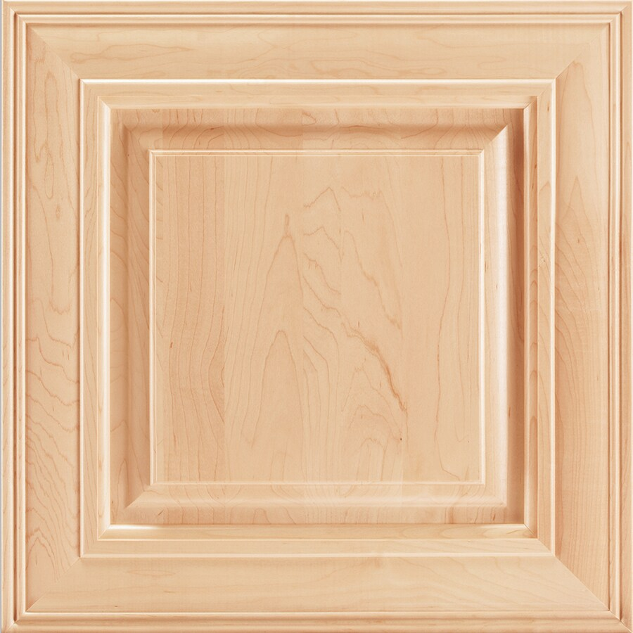 Shenandoah Mckinley 14.5-in x 14.5625-in Natural Maple Square Cabinet Sample