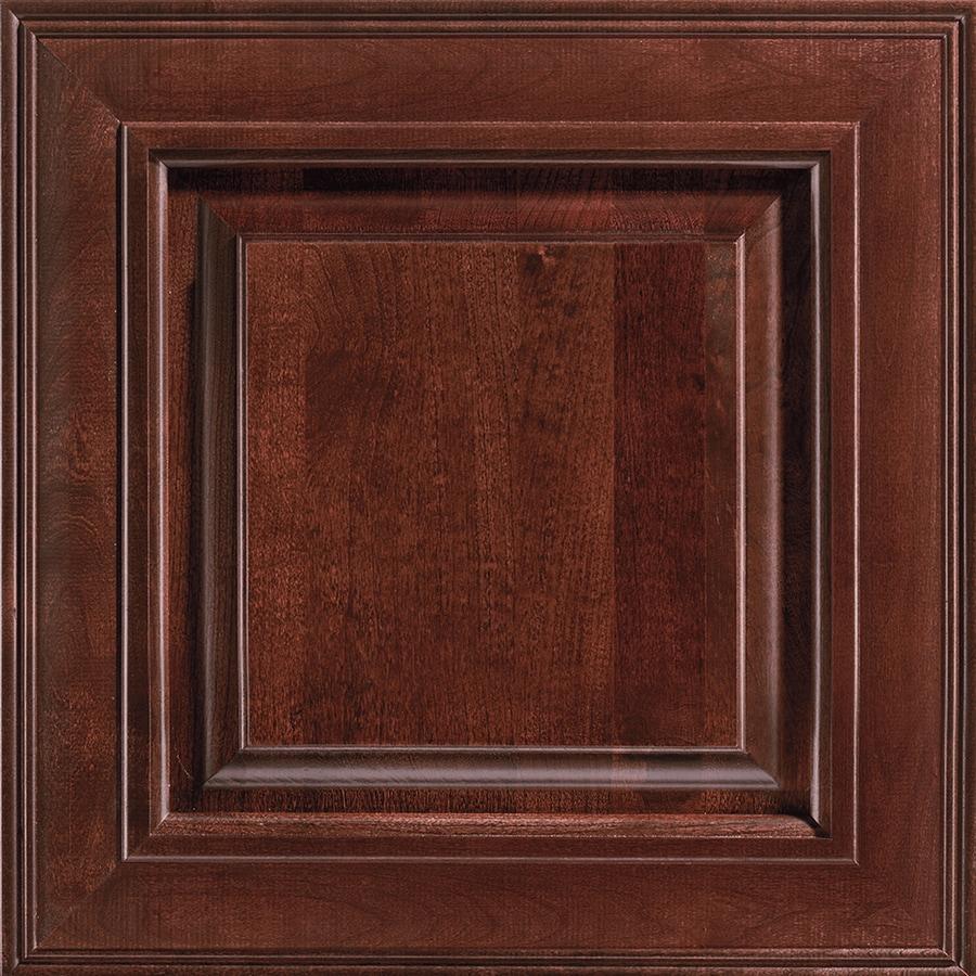 shop shenandoah mckinley 14 5 in x bordeaux cherry square cabinet sample at. Black Bedroom Furniture Sets. Home Design Ideas