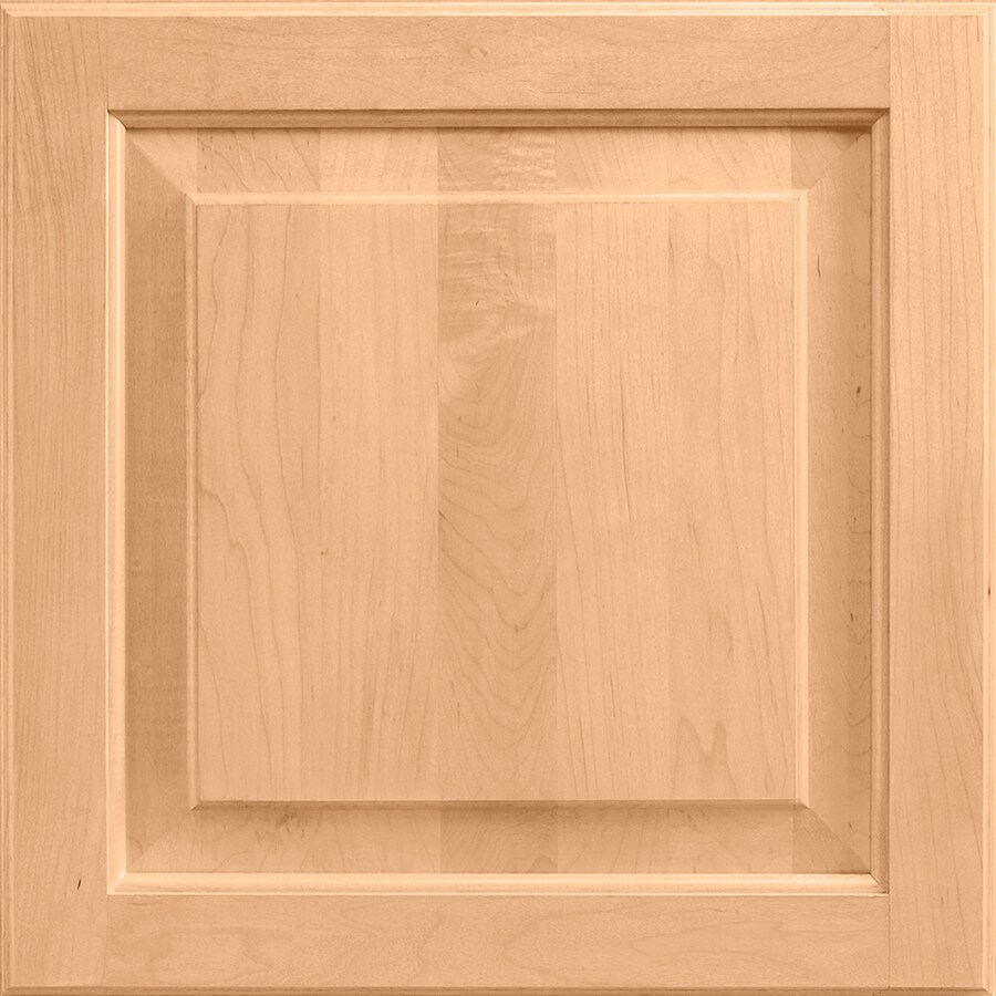 14 5 in x 14 5625 in Wheat Maple Square Cabinet Sample at Lowes com