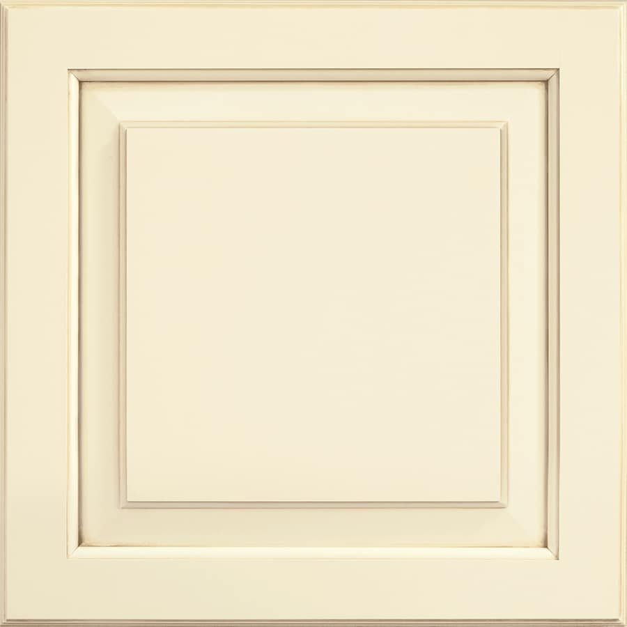 Shenandoah Winchester 14.5-in x 14.5625-in Butterscotch Glaze Painted Square Cabinet Sample
