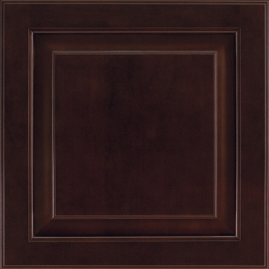 Shenandoah Winchester 14.5-in x 14.5625-in Java Stained Cherry Square Cabinet Sample