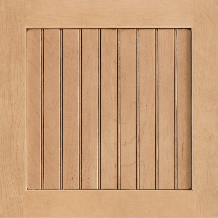 Shenandoah Cottage 14.5-in x 14.5625-in Coffee Glaze Maple Square Cabinet Sample