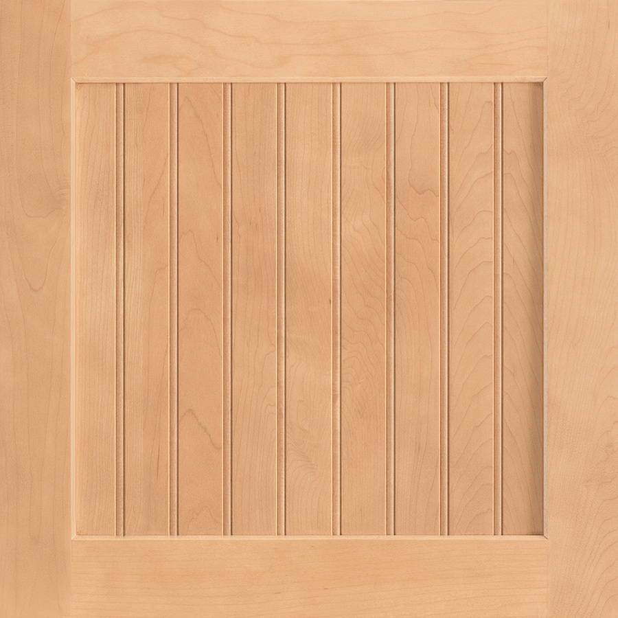 Shenandoah Cottage 14.5-in x 14.5625-in Wheat Maple Square Cabinet Sample