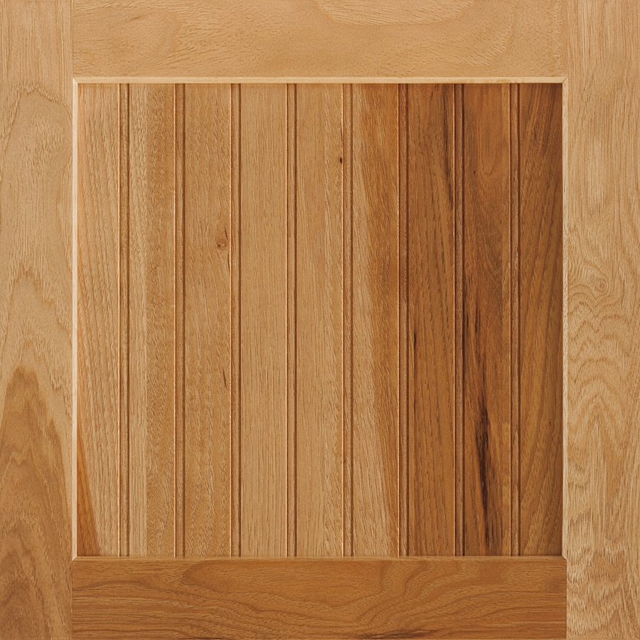 Shenandoah Cottage 14.5-in x 14.5625-in Spice Hickory Square Cabinet Sample