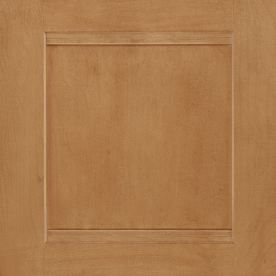 Shenandoah Solana 14.5-in x 14.5625-in Spice Maple Square Cabinet Sample