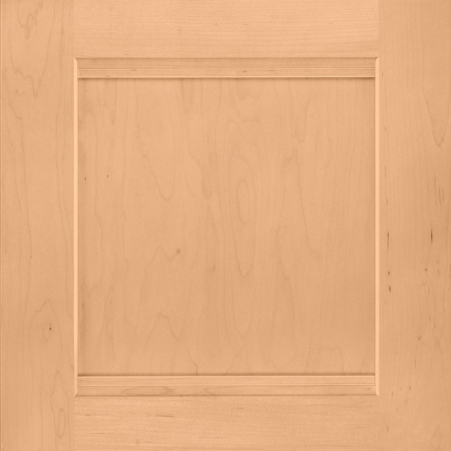 Shenandoah Solana 14.5-in x 14.5625-in Wheat Maple Square Cabinet Sample